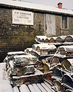 Lobster Traps, F.W. Thurston, Winter.