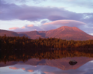 Mount Katahdin Sunset
