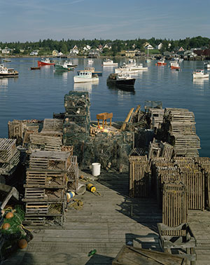 Thurston's Wharf, Bass Harbor