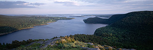 View From Acadia Mountain - Panorama