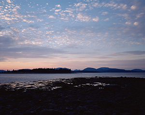 View of Mount Desert from Fish Point
